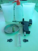Portable inner mix spray gun