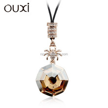 OUXI New arrival ladies fashion body chain jewelry made with Swarovski elements 11046-2