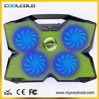 Adjustable angles usb laptop cooler pad, notebook cooling pad with usb hub