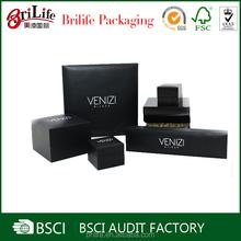 BSCI Audit Factory custom logo printed paper jewelry box
