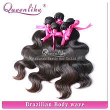 High quality Real natural & length body wave sample for 5a 100% virgin brazilian hair