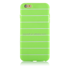 2IN1 dual color TPU phone case for iphone 6 and 6 plus