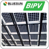 High transparent tempered glass for solar panels for building solar power system