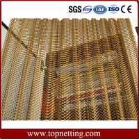 chain link wire mesh curtain/ room divider/ partition wall