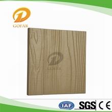 À prova de umidade de fibrocimento externa revestimento de parede