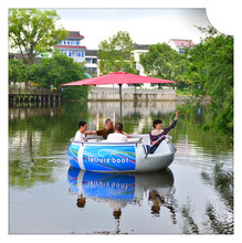China electric motor boat for sale