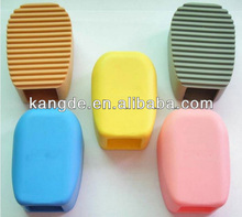 flexible cleaning silicone brush for cloths