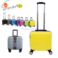 "Pretty Hardshell ABS Trolley Travel Luggage for 17"" laptop"