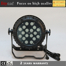 DMX control stage light 4in1/5in1 led waterproof packing par light