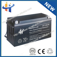 Maintenace free lead acid ups battery 12v 150ah
