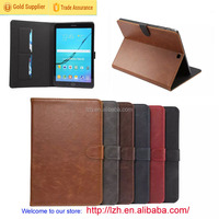For Samsung Galaxy Tab S2 T815 Crazy Horse Business Style Stand Leather Case