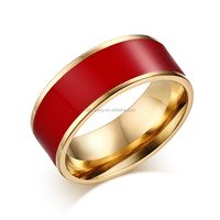 Smart Stainless Steel Ladies Gold Finger Ring for Women China Wholesale