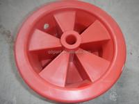 3.50-6 wheelbarrow plastic rim without bearing