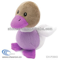 Soft stuffed baby toy music plush duck