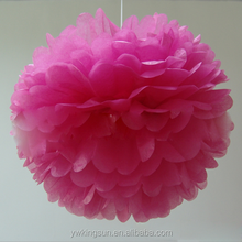 (4~20) inches Odorless Paper Artificial Flowers Balls Birthday Wedding decoration kids party supplies Factory Directly