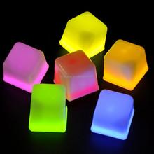 glow ice cube in dark for bar