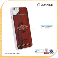 High quality pure wood phone case,engraving logo for iphone 6 case wood