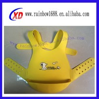 Promotional fancy private label baby silicone bibs