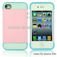 New Promotional PC+TPU 3in1 mobile phone case for Iphone 4G