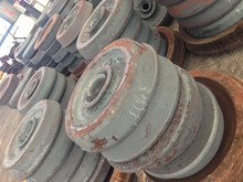780 mm hot sale forged and rolling railway wheels , locomotive engine types