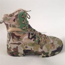 2015 geniune pelle camouflage colore migliore scarpe da trekking per uomo