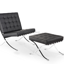 Barcelona lounge chairs with modern design,cheaper chair L8076 Black