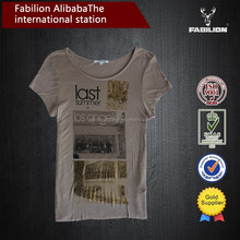 OEM wholesale china cotton t shirt,cheap bulk buy t shirt,designed t shirt for women