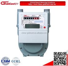 E1359 IC card prepaid diaphragm smart gas meter G2.5