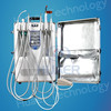 Self-contained mobile dental unit portable dental unit