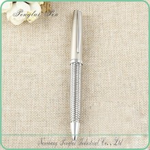 high quality name branded woven metal luxury graphic design pen
