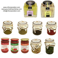 Italian Luxury Gourmet Sauces and Condiments from La Valle Reale