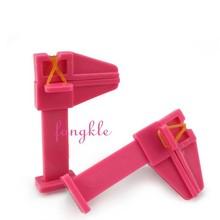 plastic nail art finger clamp for nail polish gel polish