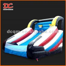 2014Newest Popular Super Large Two Hoops Inflatable Basketball Court