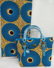 wholesale fashion african wax bags for ladies