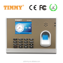 TIMMY fingerprint time attendance system attendance recorder without software for finance area (OP2000)