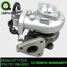 GT1752S Turbocharger turbo 701196-5007S 701196-0001 701196 for Nissan Patrol 2.8 TD