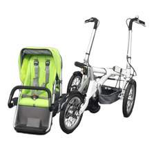 Big Wheels Mom Stroller Tricycle Baby Buggy Bikes Trailer With SGS