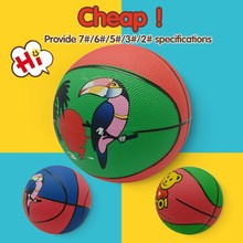custom cheap sport exercise rubber basketball for sale