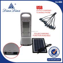 2015 hot sales flashlight plastic solar