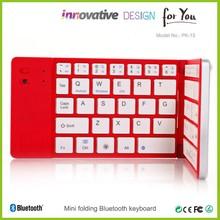 High-end deluxe portable mini wireless Bluetooh keyboards