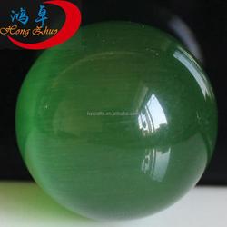 top quality Folk art natural green crystal sphere ball semi precious stone balls