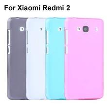 TPU Transparent Clear Cover Jelly Phone Case For Xiaomi Redmi 2