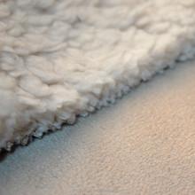 amazing suede bonded fleece fabric