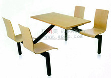 Hot Sale School Furniturel Canteen and Restaurant Dinning Table and Chair