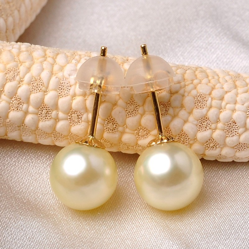 Cheap Earrings Akoya Pearl Earring Stud 7-7.5mm Cute Style ...