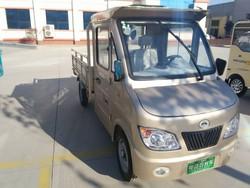 battery charging solar power RHD cargo van tricycle