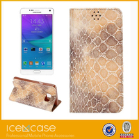 New 2 in 1pu leather soft tpu moblie phone case for Samsung note5
