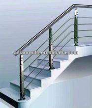 barandilla de la escalera, acero inoxidable pasamanos de escaleras, pasamanos exterior