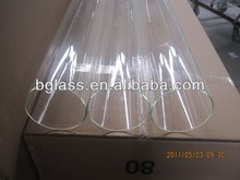 3.3 high borosilicate glass tubing O.D.: 120-230mm,High transparence glass