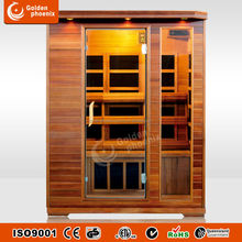 sauna infrarouge ,Red cedar wood with carbon heater 3 Person use